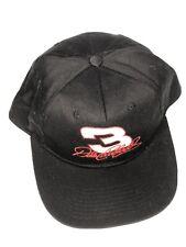 Black Dale Earnhardt Snapback Nascar Racing Hat c46