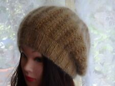 Hand Knitted, hand made ladies/men's slouchy beanie, warm hat for the winter