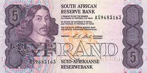 South Africa 5 Rand P-119d