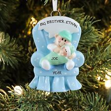Big Brother Chair Personalized Christmas Tree Ornament