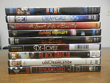 Lot of 9 DVD's (Dream Girls, Rent, Chicago, Lost In Translation, & more)