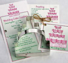 WEDDING CAKE ~ DOVE~ tin cookie cutter DUO ~ MADE IN THE USA