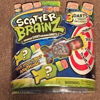 Scatter Brainz Sticky Deranged Darts Sir Dendrite of Dartmouth (Toys, New)