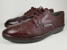 Mephisto Men's Air-Jet Brown Wingtip Oxford Lace Up Shoes Size 7.5