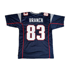 Deion Branch New England Patriots Signed Autographed Jersey