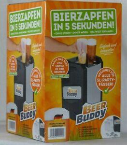 Beer Buddy Zapfanlage Bottoms-Up für 5 L Fässer Bier Inkl. Zubehör / NEU!