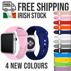 For Apple Silicone Replacement Strap Watch Series SE/6/5/4/3/2/1 <br/> Irish Stock ⭐ Free Shipping ⭐ Same Day Dispatch ⭐
