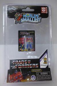 Hasbro Worlds Smallest Toys Trans Formers Optimus Prime  mini NIP