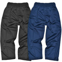 Boys Tracksuit Bottoms Kids Sports Jogging Pants Trousers  Navy Black 2-14 Years