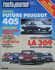 L' AUTO-JOURNAL n° 19 . 1° novembre 1985 . Lancia Thema turbo DS . Volvo 340 GLE
