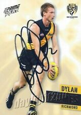 ✺Signed✺ 2013 RICHMOND TIGERS AFL Card DYLAN GRIMES