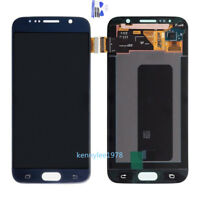 Affichage Ecran LCD tactile display pour samsung Galaxy S6 G920F+dark blue+cover