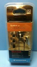 Sennheiser CX 400-II Precision In-Ear Canal Earbuds Earphones Black