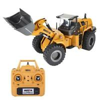 1:14 HUINA 583 2.4G Alloy Bulldozer RC Excavator Engineering Truck Vehicle Model