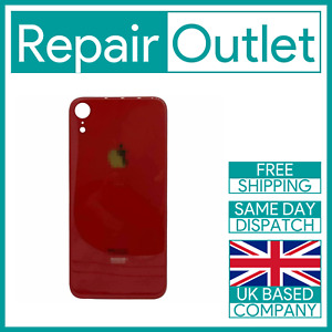 For Apple iPhone XR Replacement Back Glass (Red) UK Stock Quality Part