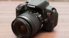 MINT Canon EOS Rebel T4i / EOS 650D 18.0MP DSLR With18-55mm Lens (2 LENSES)