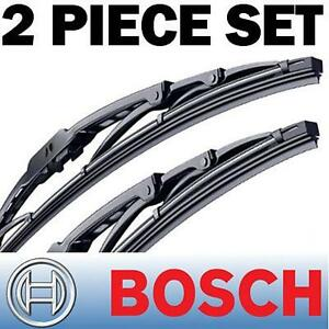 GENUINE BOSCH WIPER BLADES OEM Quality Direct Fit -Size: 22 / 22 , New Set of 2