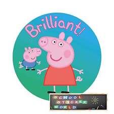 48 School Teacher Reward Stickers 30mm Merit Praise not personalised
