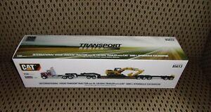 Diecast Masters International HX520 Semi & Lowboy & CAT 320DL Excavator NIB 1:50