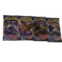 10x Pokemon Sword & Shield Booster Packs (10 cards per pack) New and Sealed