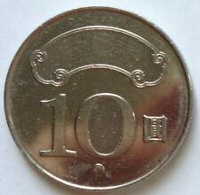 Taiwan 10 Yuan coin 2017