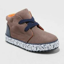 Cat & Jack Toddler Boys' Austin Casual Fashion Boots - Brown - Size 12