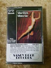 Rare Recordings Marilyn Monroe 1948-1962 Cassette Sandy Hook #2013 Naked Cover