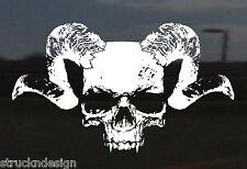 Dodge Ram Skull Design Vinyl Decal Tailgate Sticker Car Van Truck Vehicle SUV