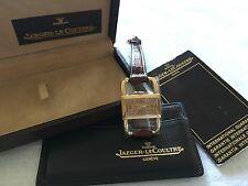 18kt solid gold jeager lecoultre türler hermes watch vintage rare mint