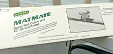 """Fletcher Matmate 40"""" - System Bevel Mat Cutter 04-913 Read Description new/other"""