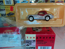 Vanguards 1/43 Triumph TR3A silverstone grey & red