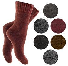 6 Paar Thermosocken Baumwollsocken für Damen Vollfrottee Wintersocken Socken