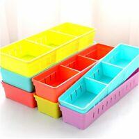 Adjustable New Drawer Organizer Home Kitchen Board Divider Makeup Storage Boxes