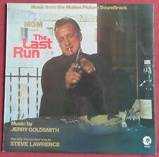 THE LAST RUN LP ORIG UK BOF OST JERRY GOLDSMITH