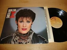 Sheila Walsh - War Of Love - LP Record  NM VG+
