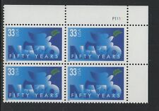ALLY'S STAMPS  US Plate Block Scott #3354 33c NATO - Fifty Years [4] MNH [STK]