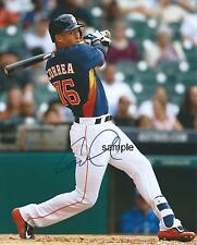 CARLOS CORREA #2 REPRINT 8X10 AUTOGRAPHED SIGNED PHOTO PICTURE HOUSTON ASTROS