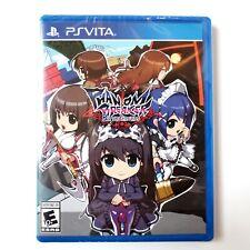 Phantom Breaker Battlegrounds Sony PlayStation Vita Limited Run Brand New Sealed