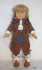 Western Cowgirl Cowboy Chaps for American Girl 18 inch Doll Clothes Most Variety