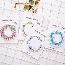 Random Wreath Design Memo Bookmark Point Marker Flags Post It Sticky Tab Notes