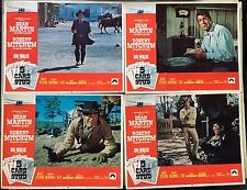 5 Card Stud, Dean Martin, Robert Mitchum, 1968, Lobby Card Set of 7, Gunfighters