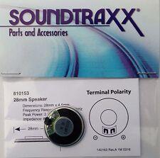 Speaker Soundtraxx 28mm Round 8 ohms 2 watts high output speaker
