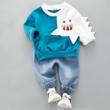 Toddlers Autumn Hoodies Pants Suits Kids Outfits Sports Clothes Sets Four Colors