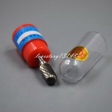 "Cylindrical Cut Tungsten Carbide Burr Bur Cutting Tool Die Grinder Bit 1/4""  C"