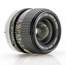 Canon Lens FD 24mm 24 mm 1:2.8 2.8 S.S.C