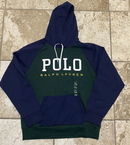 Polo Ralph Lauren Pullover Hoodie Hooded Sweatshirt Size L New With Tags