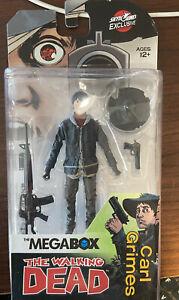 McFarlane Toys Megabox Exclusive The Walking Dead Carl Grimes Action Figure