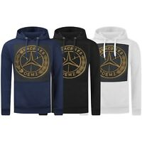 New Men Hoodie Sweater Gold Foil Pullover Embossed Long Sleeve Racing Racing GT