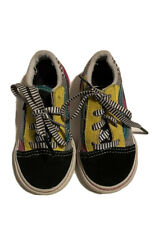 Vans Off The Wall Size 6 Toddler Shoes Multi Color