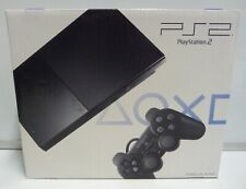 CONSOLE PLAYSTATION 2 PS2 SLIM CHARCOAL BLACK SCPH-90004 CB NEW PAL RARE